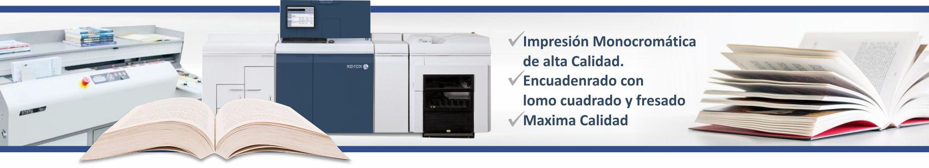 Imprenta Omega | Industrias Gráficas - LIBROS Bajo Demanda